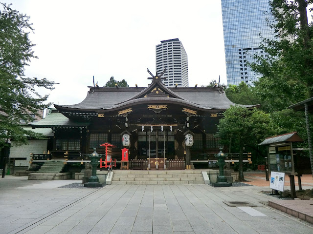 熊野神社,本殿,新宿〈著作権フリー無料画像〉Free Stock Photos