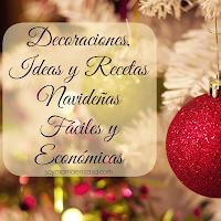 decoraciones, ideas y recetas navideñas