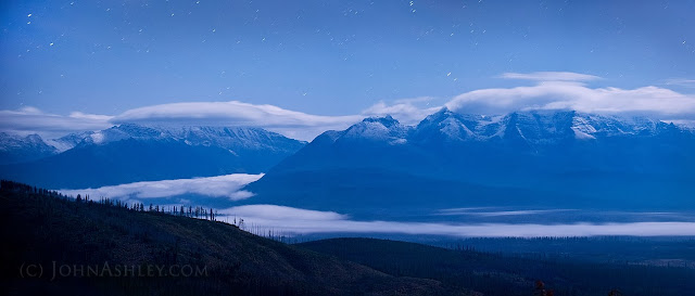 Fog in Montana's North Fork Valley (c) John Ashley
