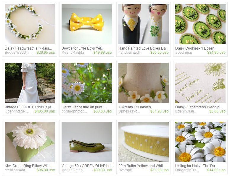 White Daisy Wedding The Inspiration Board