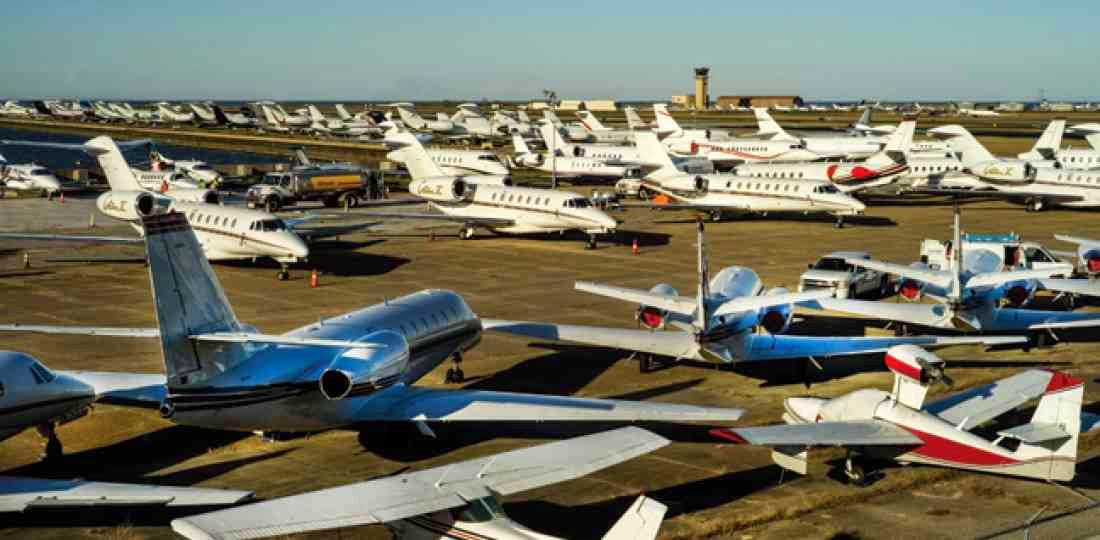Sporting Events and Private Jets