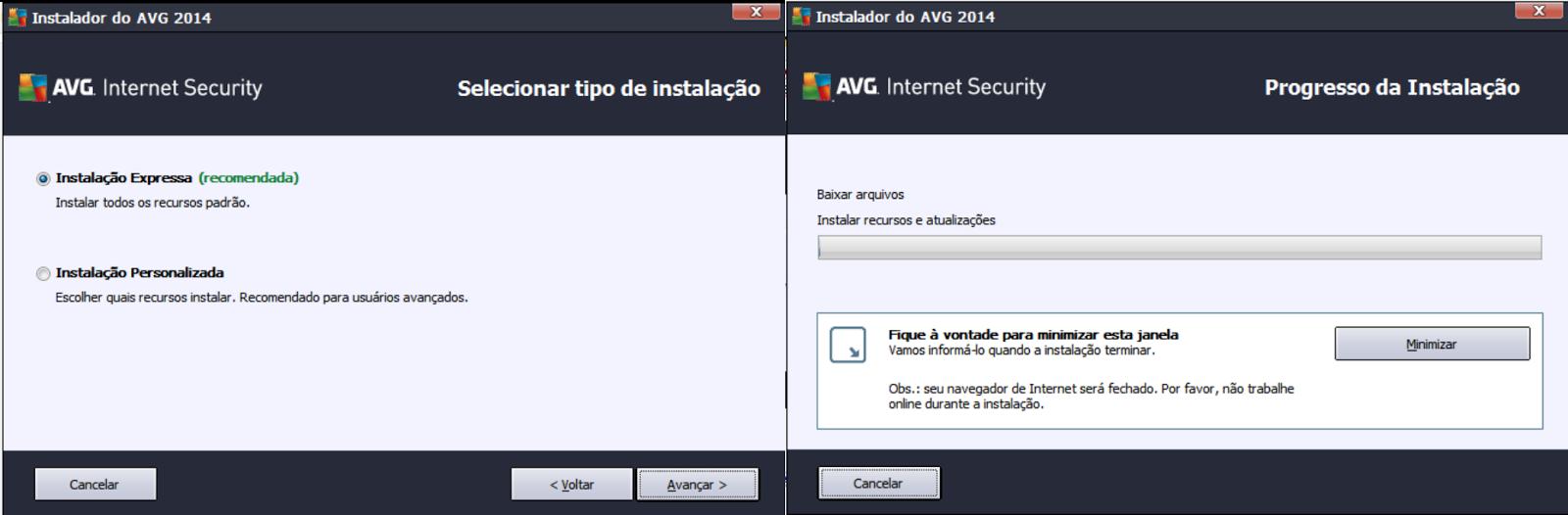 Avg para Windows 8 64 baixar