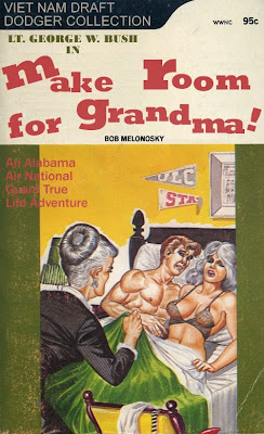 George W. Bush grandma funny book bob melonosky