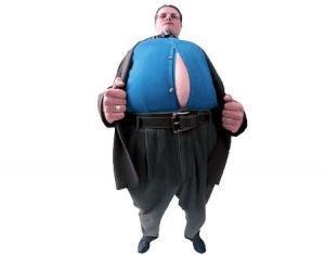 احذر.. زيادة الوزن تسبب العقم - fat man guy