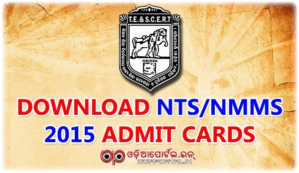 ntse nts nmms odisha exam download admit card, scholarship hall ticket card, nts/nmms admit pdf download print Admit Card Download: Odisha NTS/NMMS Scholarship Exam 2015-16 By TE & SCERT