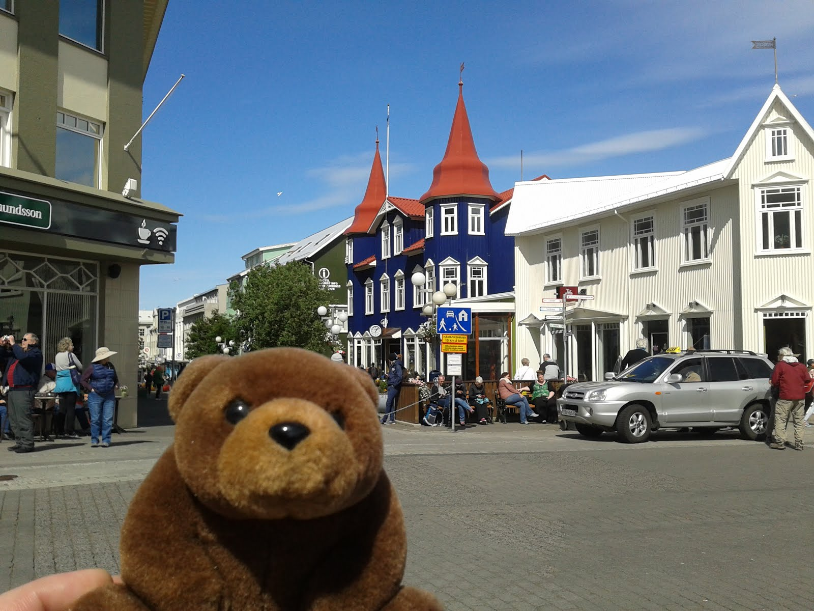 Teddy Bear in Akureyri, Iceland