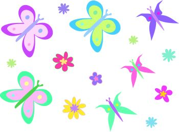 world flowers flowers and butterflies clipart rh worldflowerss blogspot com butterflies and flowers clipart black and white Butterfly Clip Art