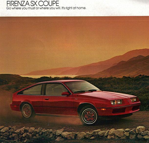 オールズモビル・フィレンザ | Oldsmobile firenza(1982-1988)