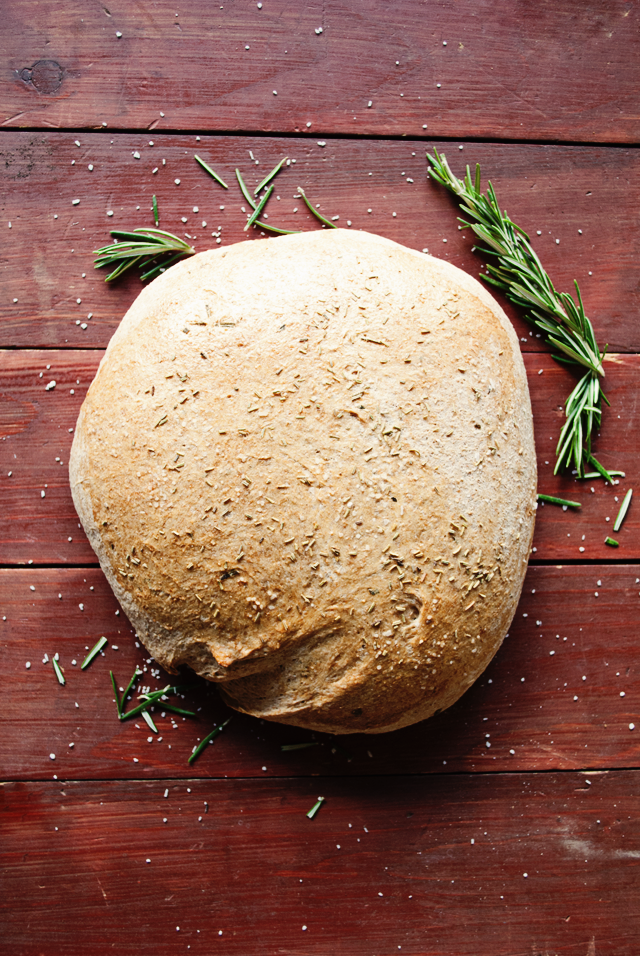 Three in Three: Homemade Rosemary and Olive Oil Bread #recipe