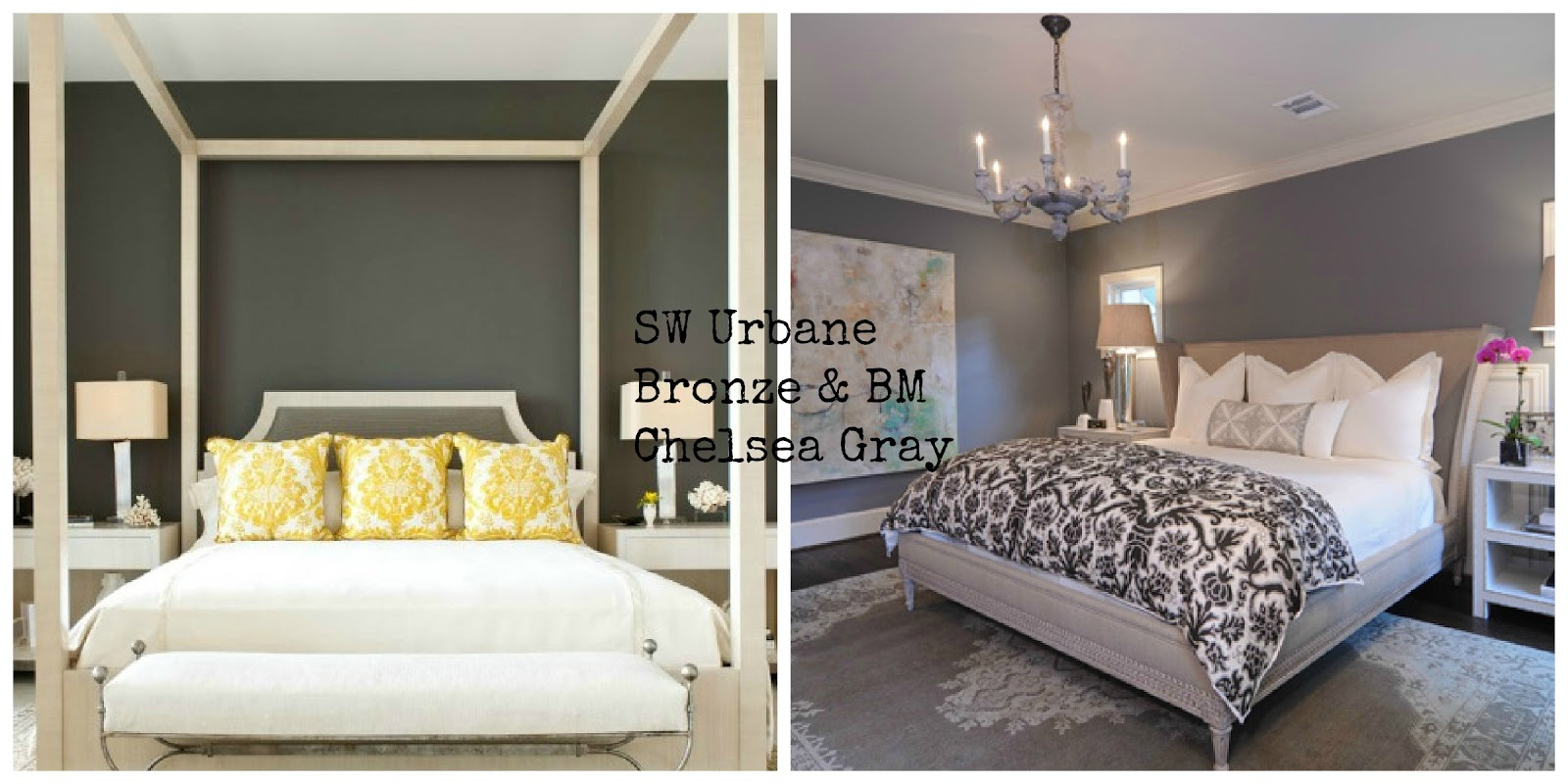 One Wall Color Bedroom Helping Clients Decorate Bungalow Home Staging Redesign