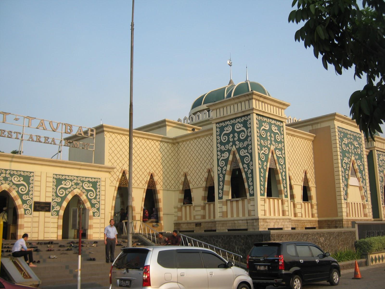 Napak Masigit Masjid At Taubah Karawang Jabar