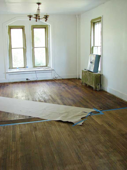 Below Is An Image Of The Dining Room After The Floors Had