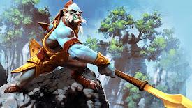 huskar sacred warrior dota 2 hero hd wallpaper