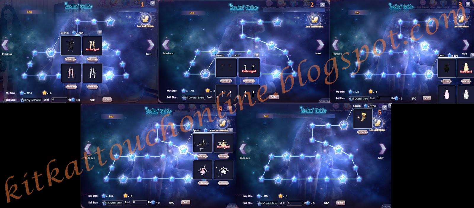 Leo Touch Online World