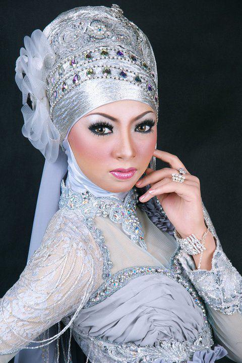 Hijab blanc mariage