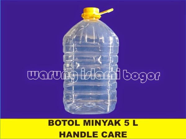 Jual Botol Zam Zam 5 Liter Handle Care
