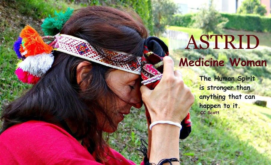 Astrid. MEDICINE WOMAN