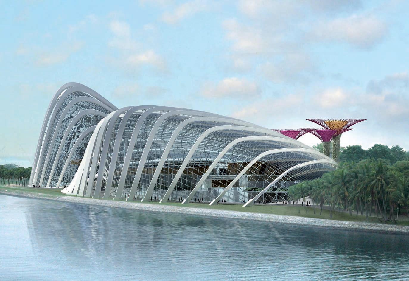 The Hypothetical Australian Capital City 038 Exemplar Gardens By The Bay Singapore