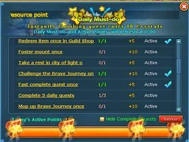 Cyber Monster 2 Daily Must Do Event