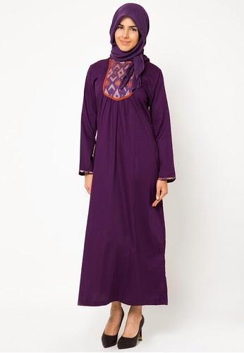 25 contoh model baju muslim lebaran idul fitri kumpulan Foto baju gamis anak muda terbaru