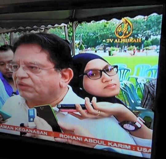 Wartawan Bersandar 'Manja' di Belakang Ku Nan