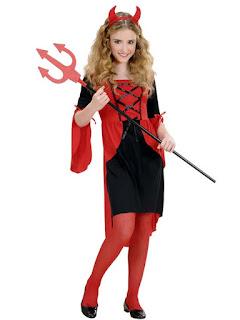 Halloween Kostume Djævlepigen