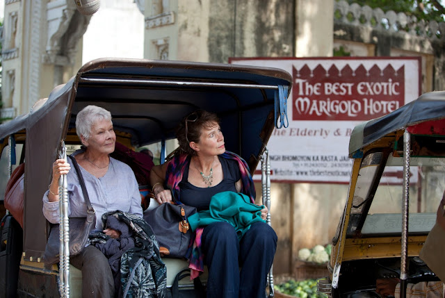 The Best Exotic Marigold Hotel,cute movie,Judi Dench
