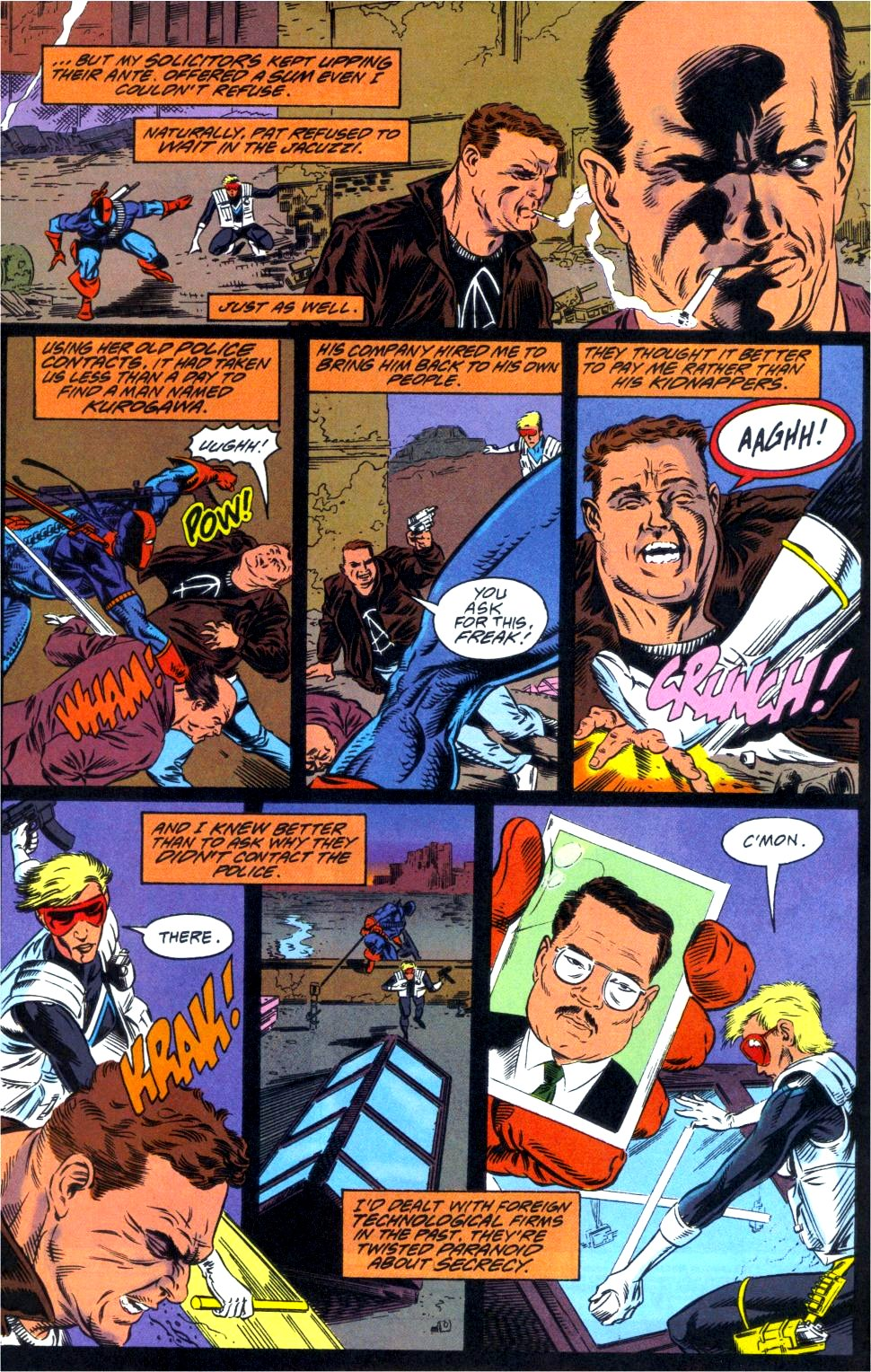 Deathstroke (1991) Annual 1 #1 - English 3