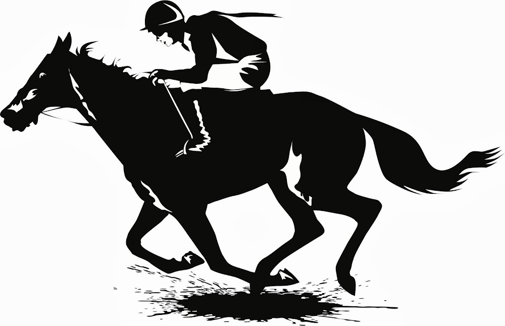 Displaying 17> Images For - Horse Racing Silhouette...