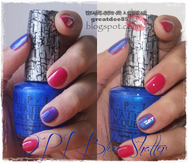 OPI Blue Shatter NLE56