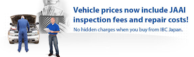 JAAI Used Car Inspection and Repair costs