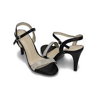 Sandale de ocazie Modlet, negre, din colectia Athena