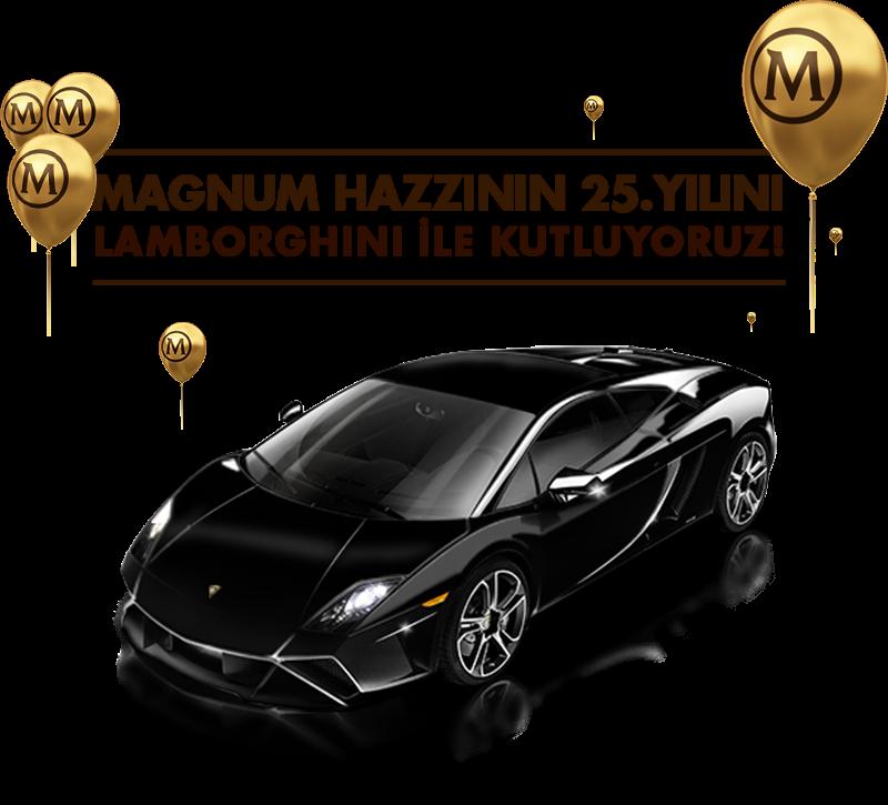 Magnum 25. Yılında Lamborghini Hediye Ediyor.