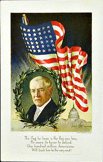 Woodrow Wilson Postcard