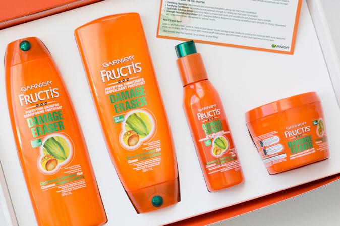garnier fructis damage eraser influenster voxbox canada