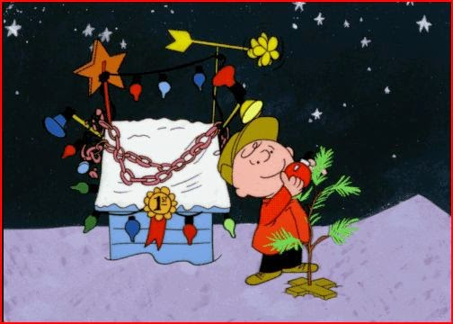 Charlie Brown Christmas Tree holiday.filminspector.com