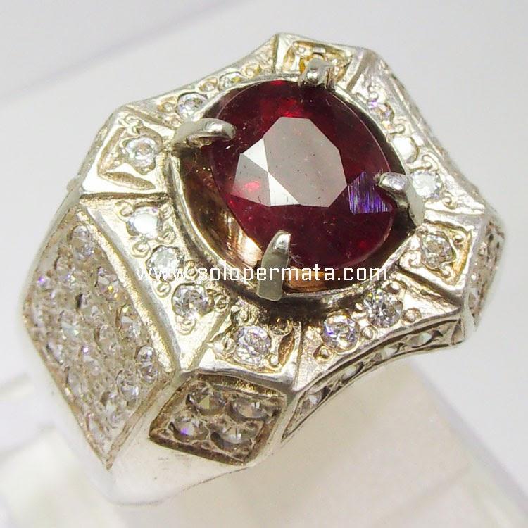 Batu Permata Ruby Pigeon Blood - 30A07