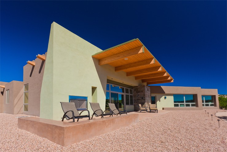 Neocribs contemporary mexican house the loyd residence for New mexico house plans