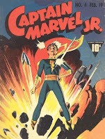 CAPTAIN MARVEL JR. #4 comic cover