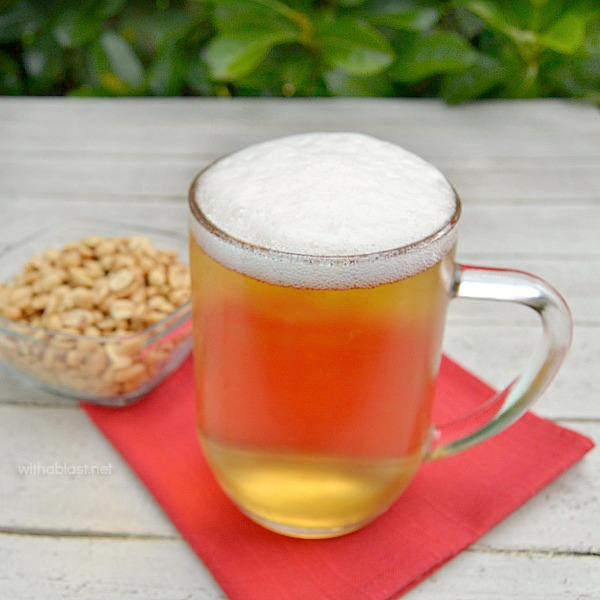 Beer Shandy (3 Ways) ~ 2 Ingredient Beverage with 3 versions - standard, light and non-alcoholic ~ perfect for Game Day and hot Summer days