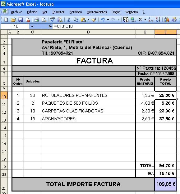 Canarlab: Facturar con Excel vs FacturaGo