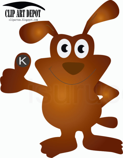 Clipart-Illustration-of-funny-dog-Cartoon-Character