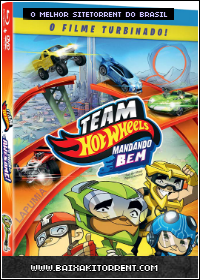 Capa Team Hot Wheels: Mandando Bem Torrent Dual Audio (2014) Baixaki Download