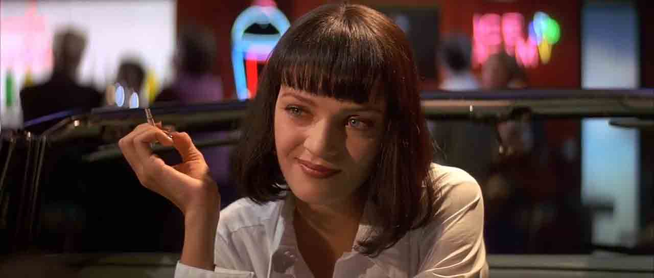 Screen Shot Of Hollywood Movie Pulp Fiction (1994) In English Full Movie Free Download And Watch Online At Downloadingzoo.Com