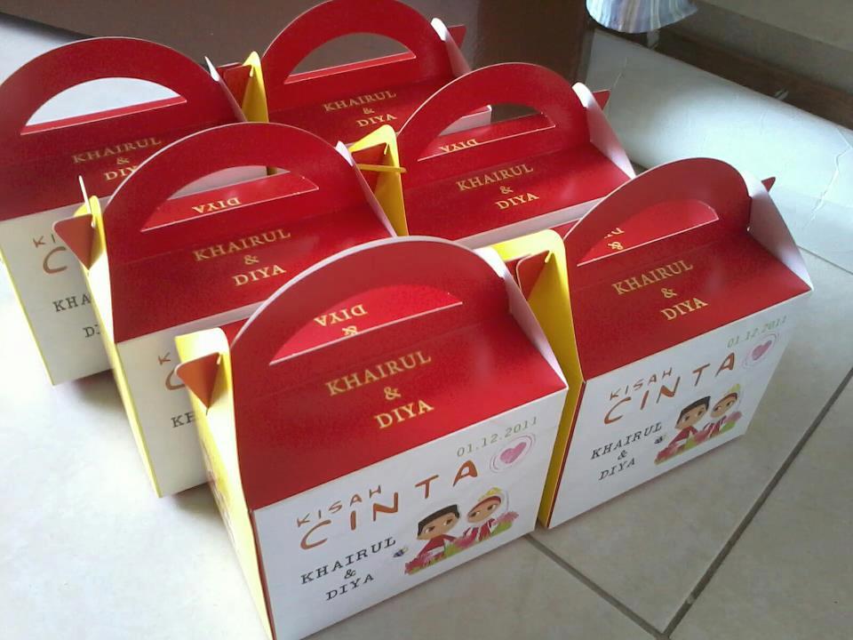 Blog kad kahwin harga promosi box door gift harga box for Idea door gift kahwin murah