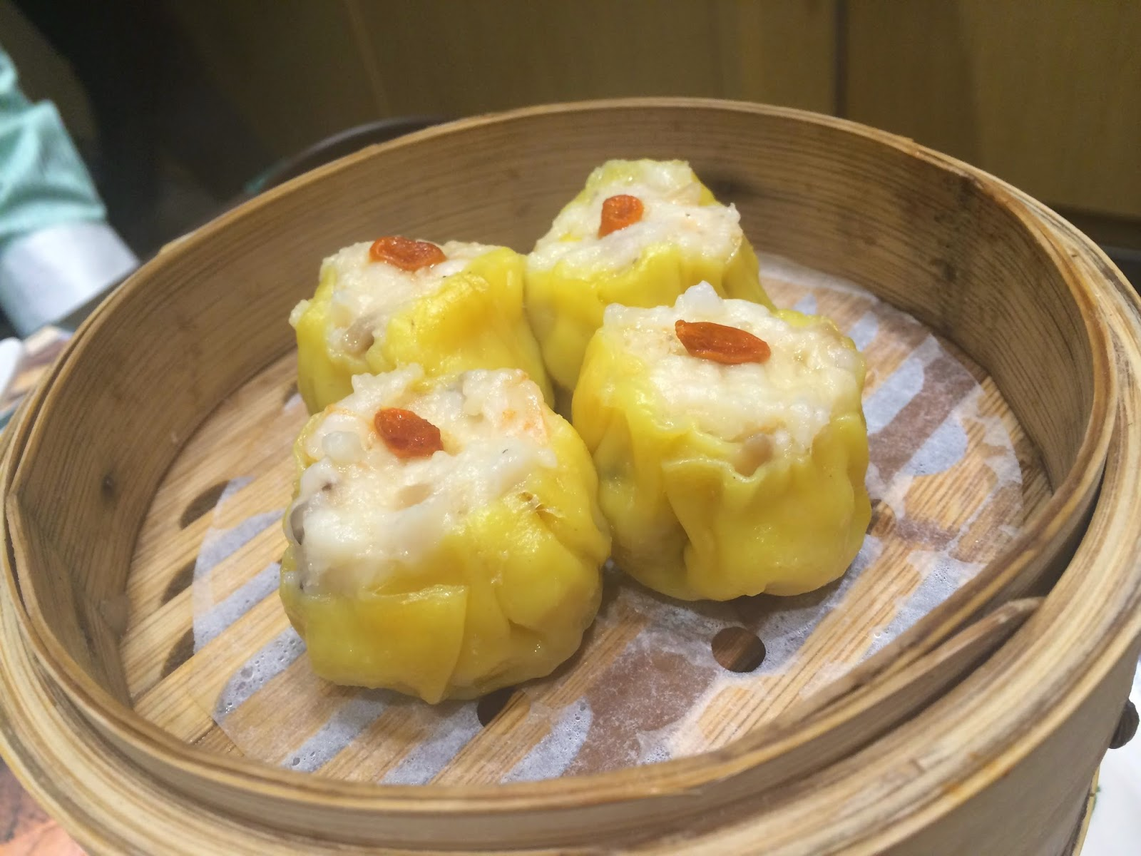 Pork and Shrimp dimsum at Tim Ho Wan