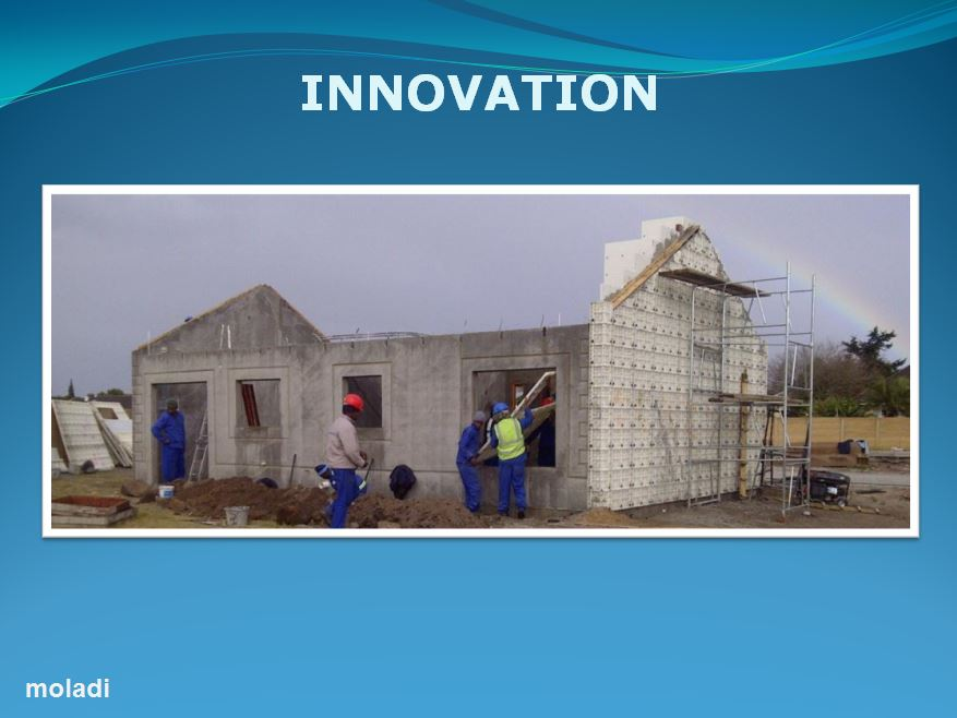 Construction technology moladi plastic formwork low for Alternative home building methods