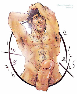 hannibal nbc gay erotic fanart horny will graham