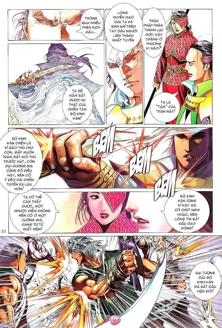 Phong Vân chap 622 Trang 23 - Mangak.info