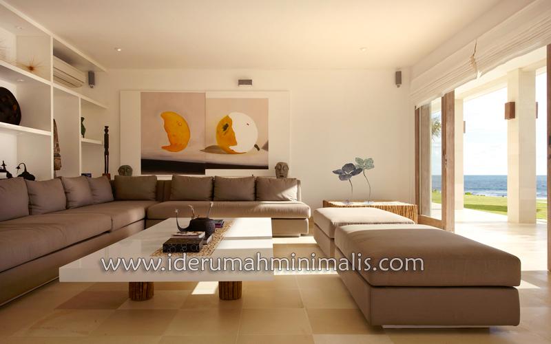 ruang tamu minimalis desain rumah minimalis